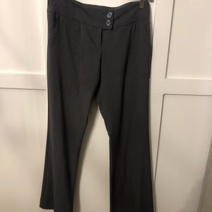 Gray flare pants - size 4